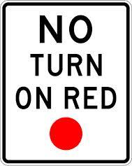 fight red light camera ticket right turn