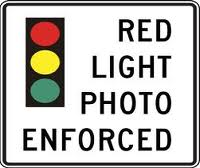 red light camera ticket 3rd and Arizona