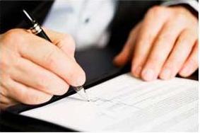 trial by written declaration in California